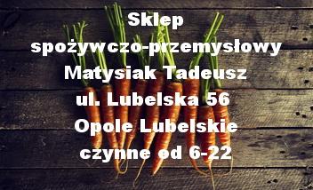 Sklep spożywczo-przemysłowy Matysiak Tadeusz