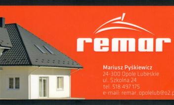 REMAR Mariusz Pyśkiewicz