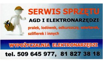 Serwis AGD iElektronarzędzi