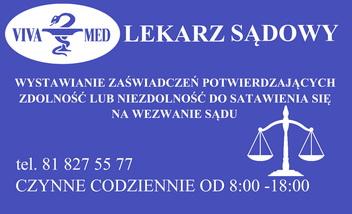 Lekarz Sądowy Opole Lubelskie VIVAMED