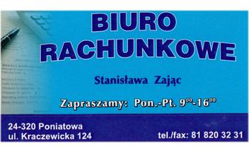 Biuro Rachunkowe Stanisława Zając