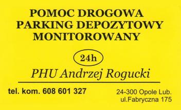 POMOC DROGOWA Andrzej Rogucki