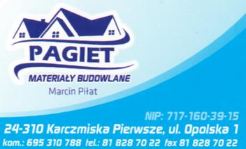 PAGIET Materiały Budowlane