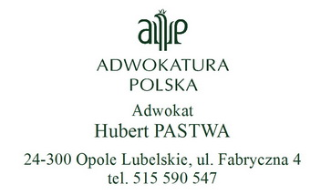 ADWOKAT Hubert Pastwa