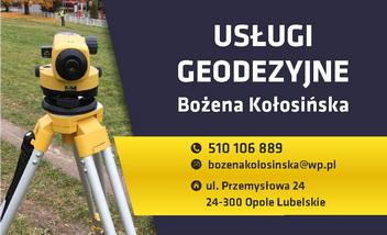 Usługi Geodezyjne Bożena Kołosińska