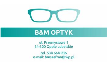 BM OPTYK Salon Optyczny Galeria Stokrotka