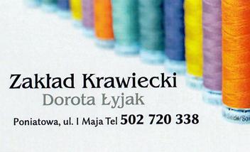 Zakład krawiecki Dorota Łyjak