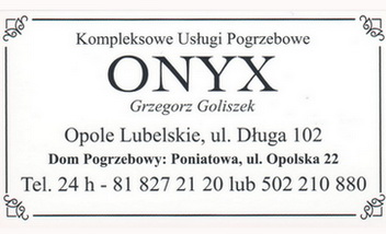 Praca w zakładzie pogrzebowym Opole Lubelskie