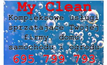 My Clean Mobilne Usługi Sprzątające
