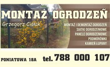 MONTAŻ OGRODZEŃ Grzegorz Cisłak