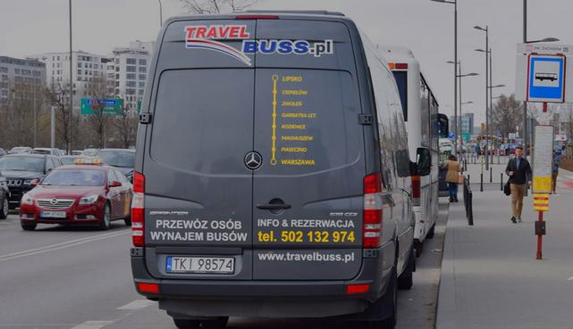 TRAVELBUSS Przewozy pasażerskie Wynajem busów - obrazek 3