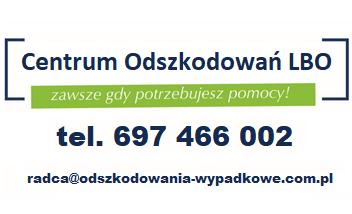 CENTRUM ODSZKODOWAŃ LBO EWA MAJEWSKA- SZCZUCKA
