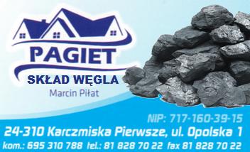 PAGIET Skład Węgla Karczmiska