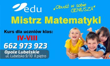 EDU Mistrz Matematyki Kurs dla Dzieci