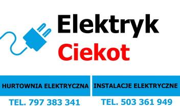 Ciekot Elektryk Hurtownia-Montaż