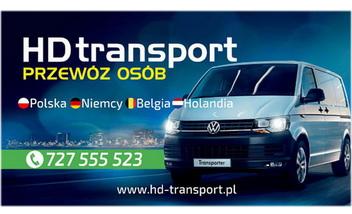 HD transport Przewóz Osób Transport Paczek