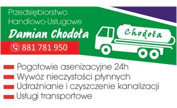 Usługi Asenizacyjne, Kanalizacyjne i Transportowe Chodoła