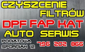 Serwis DPF AUTO SERWIS Poniatowa