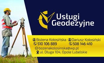 Usługi Geodezyjne  Dariusz Kołosiński